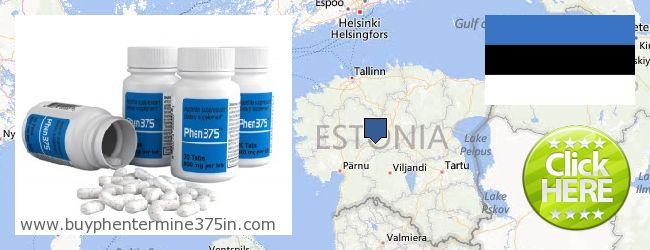 Где купить Phentermine 37.5 онлайн Estonia