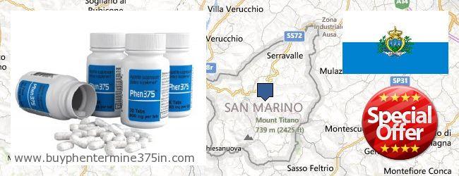 Где купить Phentermine 37.5 онлайн San Marino