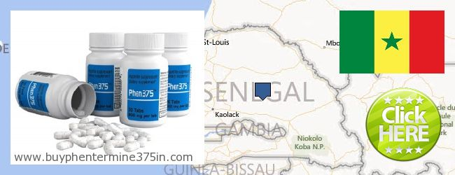 Где купить Phentermine 37.5 онлайн Senegal