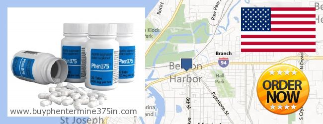 Where to Buy Phentermine 37.5 online Benton Harbor MI, United States