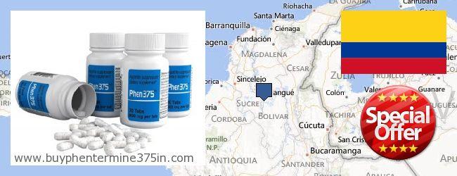 Where to Buy Phentermine 37.5 online Bolívar, Colombia