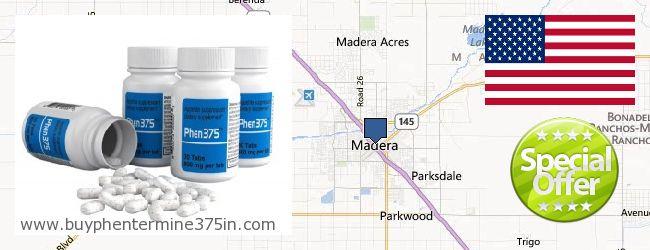 Where to Buy Phentermine 37.5 online Madera CA, United States