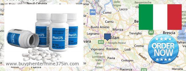Where to Buy Phentermine 37.5 online Milano, Italy
