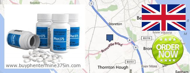 Where to Buy Phentermine 37.5 online Wirral, United Kingdom